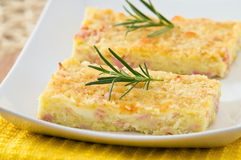 Potato gateau. Royalty Free Stock Photo