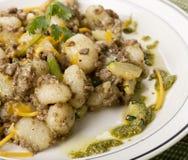 Potato gnocchi, Italian potato dumplings Royalty Free Stock Photo