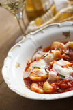Potato gnocchi Stock Image