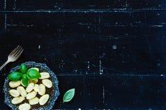 Potato gnocchi Stock Images