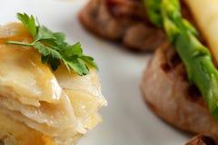 Potato gratin Stock Image