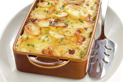 Potato gratin Stock Photography