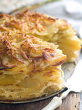 Potato gratin Stock Image