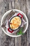 Potato gratin. Stock Image