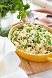 Potato gratin with mushrooms Stock Photography