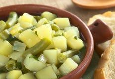 Potato and Green Bean Hotpot Royalty Free Stock Image