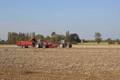 Potato harvester 2 Royalty Free Stock Photography