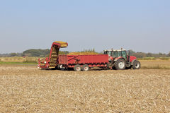 Potato harvester Royalty Free Stock Photo