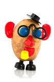Potato head. Funny potato head with face from toys royalty free stock images