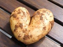 Potato heart Royalty Free Stock Images