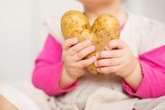 Potato Heart Stock Image