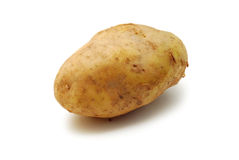 Potato isolated Stock Photos