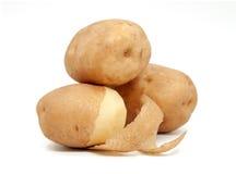Potato isolated on white. Potato isolated on white background Royalty Free Stock Photo