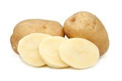 Potato isolated on white. Potato isolated on white background Stock Photos
