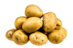Potato isolated on white background close up Royalty Free Stock Photos