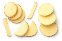 Potato Isolated on White Background Royalty Free Stock Photos