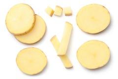 Potato Isolated on White Background Royalty Free Stock Image