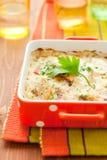 Potato and kohlrabi gratin Royalty Free Stock Images