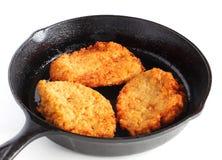 Potato latkes Stock Image