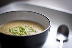 Potato & Leek Soup Stock Photo