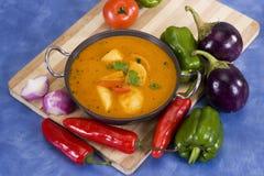 Potato Masala Curry Stock Photography