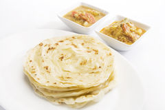 Potato Masala Curry with Potato Paratha Stock Image