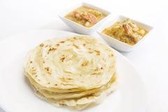 Potato Masala Curry with Potato Paratha royalty free stock image
