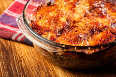 Potato and meat casserole Royalty Free Stock Image