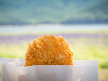 Potato and Meat Croquette Royalty Free Stock Photos