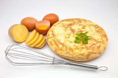 Potato omelet Royalty Free Stock Photo
