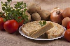 Potato omelette Royalty Free Stock Image