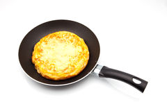 Potato omelette Stock Images