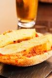 Potato omelette skewer. Stock Images