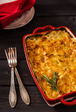 Potato-onion casserole Stock Image
