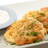 Potato Pancake Stock Photos