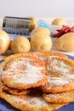Potato pancake Royalty Free Stock Photo