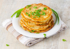 Potato Pancake Royalty Free Stock Photography