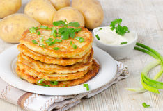 Potato Pancake Stock Image