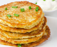 Potato Pancake Stock Photography