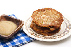 Potato pancake crisply Royalty Free Stock Photo