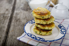 Potato pancake Royalty Free Stock Photos