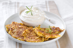 Potato pancake Stock Images