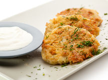 Potato Pancake Royalty Free Stock Photo