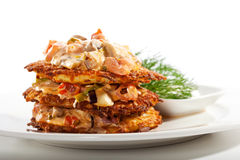 Potato Pancake Royalty Free Stock Image