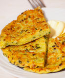 Potato pancake Royalty Free Stock Images