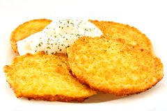 Potato pancakes Royalty Free Stock Image