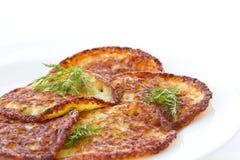 Potato pancakes Stock Photography