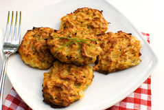 Potato pancakes Royalty Free Stock Photography