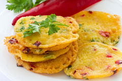 Potato pancakes Stock Image