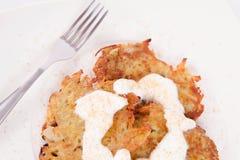 Potato Pancakes Royalty Free Stock Photo